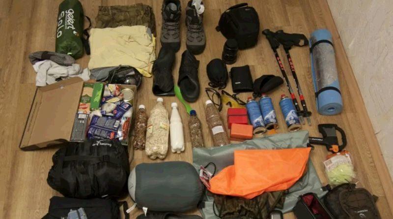 снаряжение для походов в лес