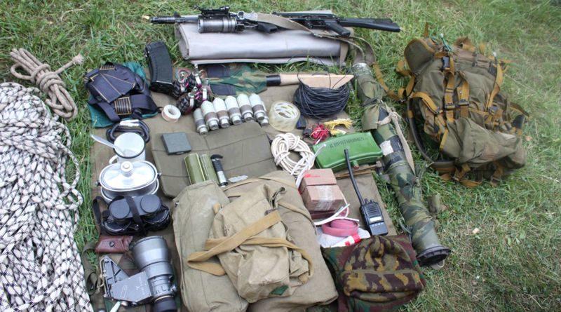 Экипировка разведчика спецназа ВДВ