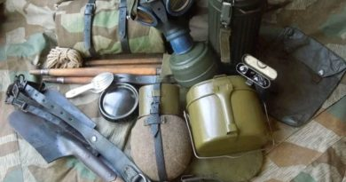 Снаряжение Немецкого солдата Второй Мировой Войны