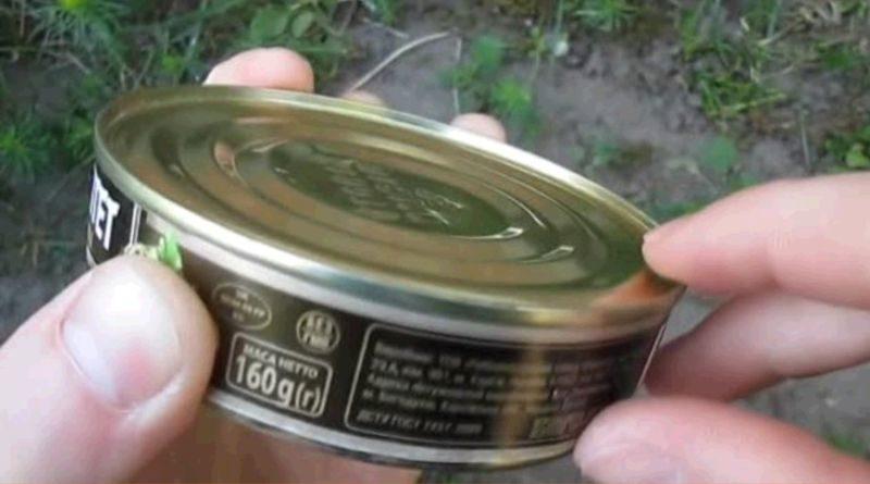 Как открыть консервы голыми руками