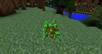 саженцы деревьев в майнкрафт