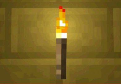 факел в майнкрафт